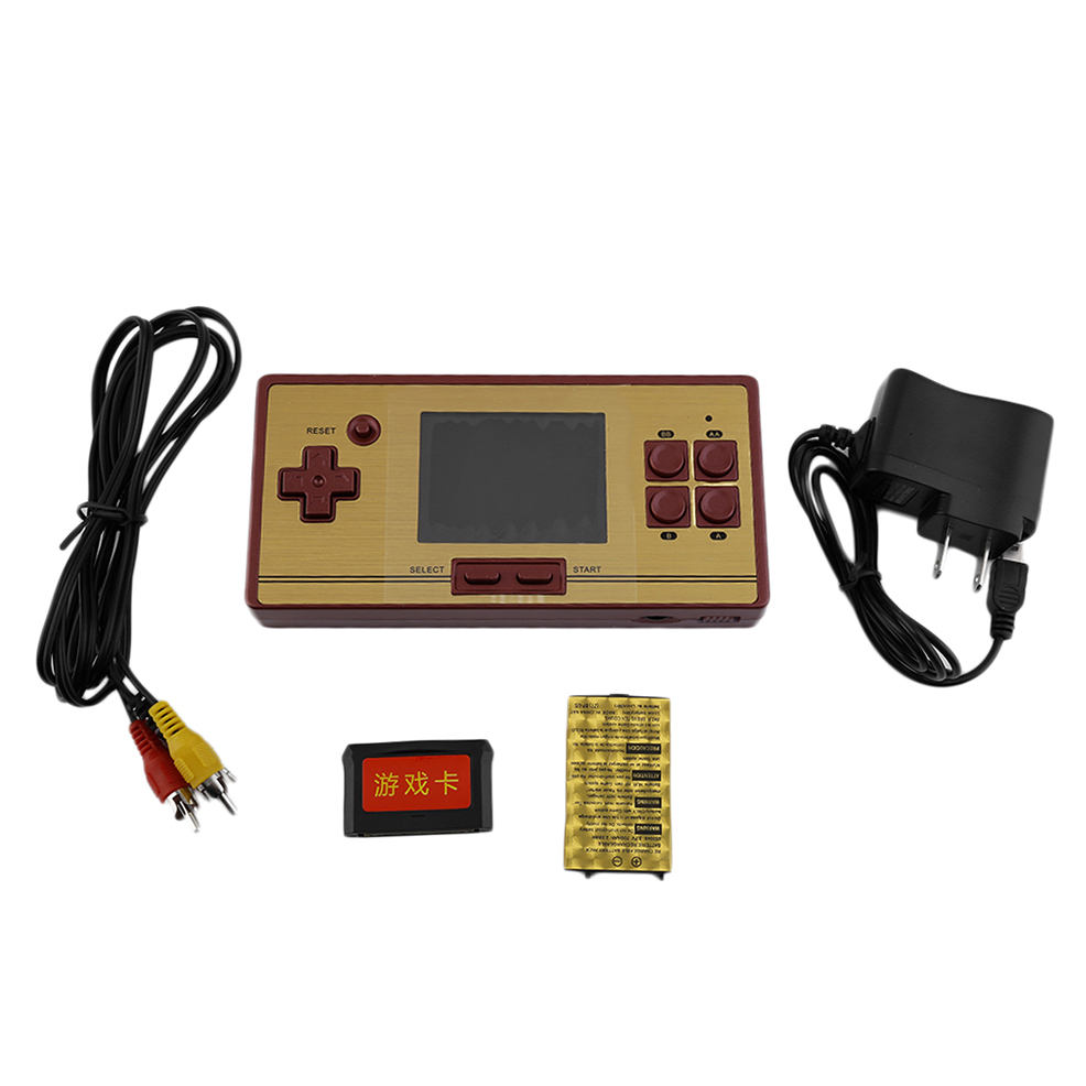 classic game machine rs 20fc lcd 600 games inside portable. Black Bedroom Furniture Sets. Home Design Ideas