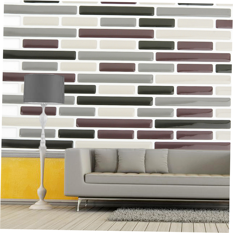 3d Wall Tiles For Kitchen: 3D Wall Sticker Self-adhesive Wallpaper Ceramic Tile