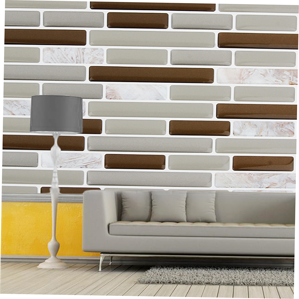 3d wall sticker self adhesive wallpaper ceramic tile for 3d tiles for kitchen wall