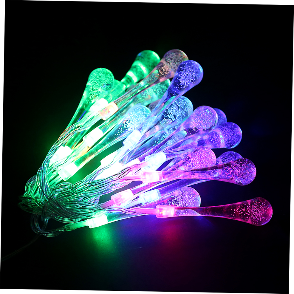 20 Light String Christmas Lights : 20 LED Water Drop String Lights LED Fairy Light for Wedding Christmas Party LO eBay