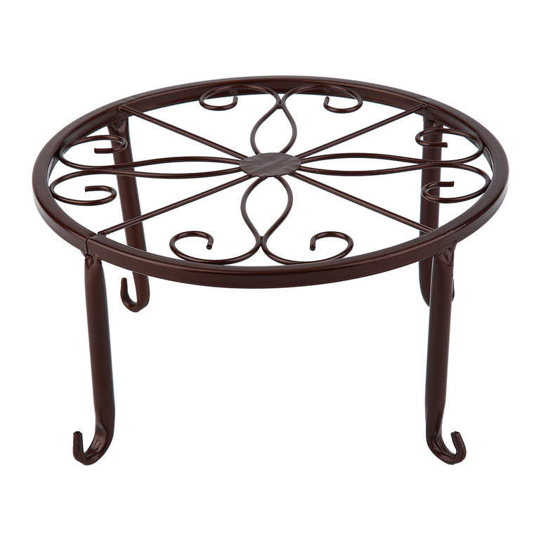European style flower pot rack metal design bonsai potted plant stand shelf be ebay - Flower pot stands metal ...