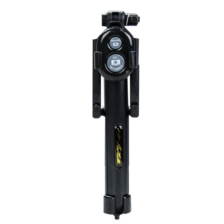 best stainless bluetooth cell phone selfie stick monopod tripod for iphone lot d ebay. Black Bedroom Furniture Sets. Home Design Ideas