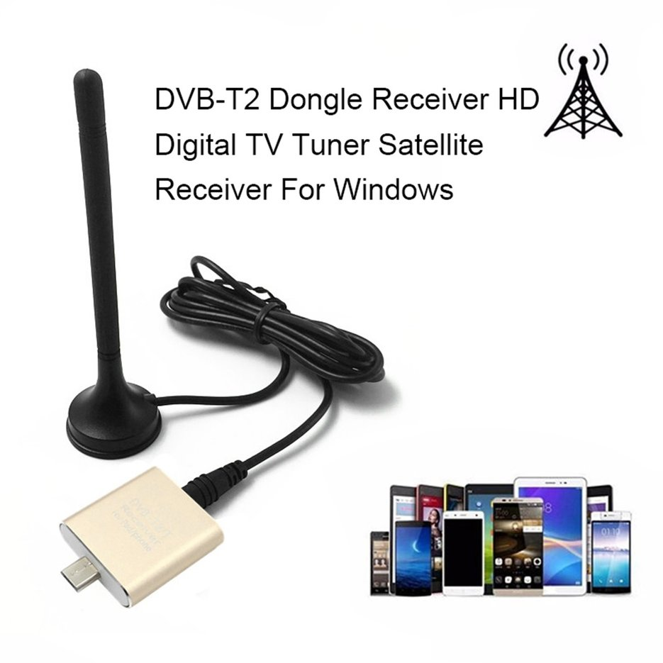 dvb t2 dongle receiver hd digital tv tuner satellite receiver for windows f7 ebay. Black Bedroom Furniture Sets. Home Design Ideas