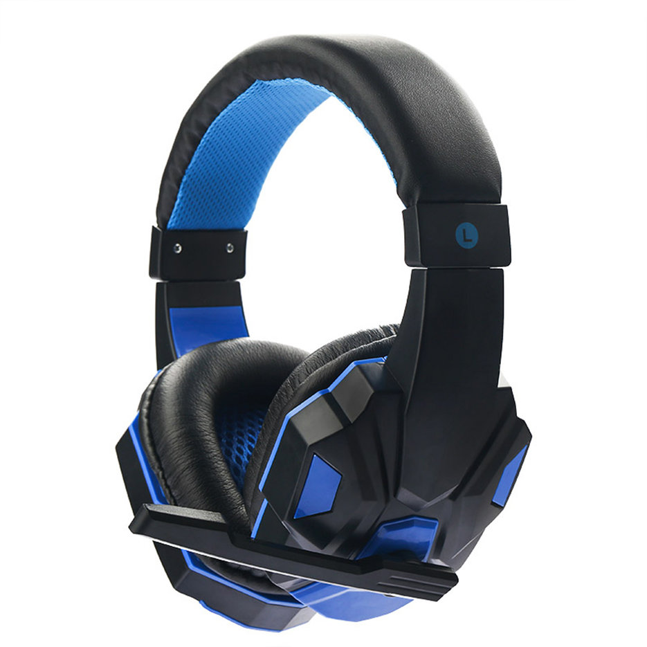 3.5mm Cool Surround Stereo Gaming Headset Headband ...