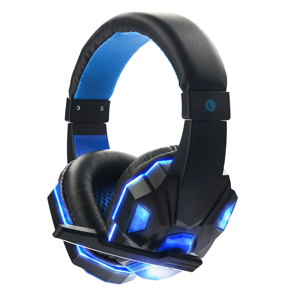 cool surround stereo gaming headset headband. Black Bedroom Furniture Sets. Home Design Ideas
