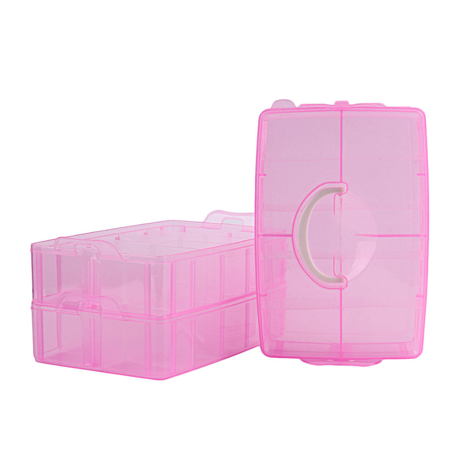 30 grids plastic storage box for toys jewelry display for Plastic grid sheets crafts