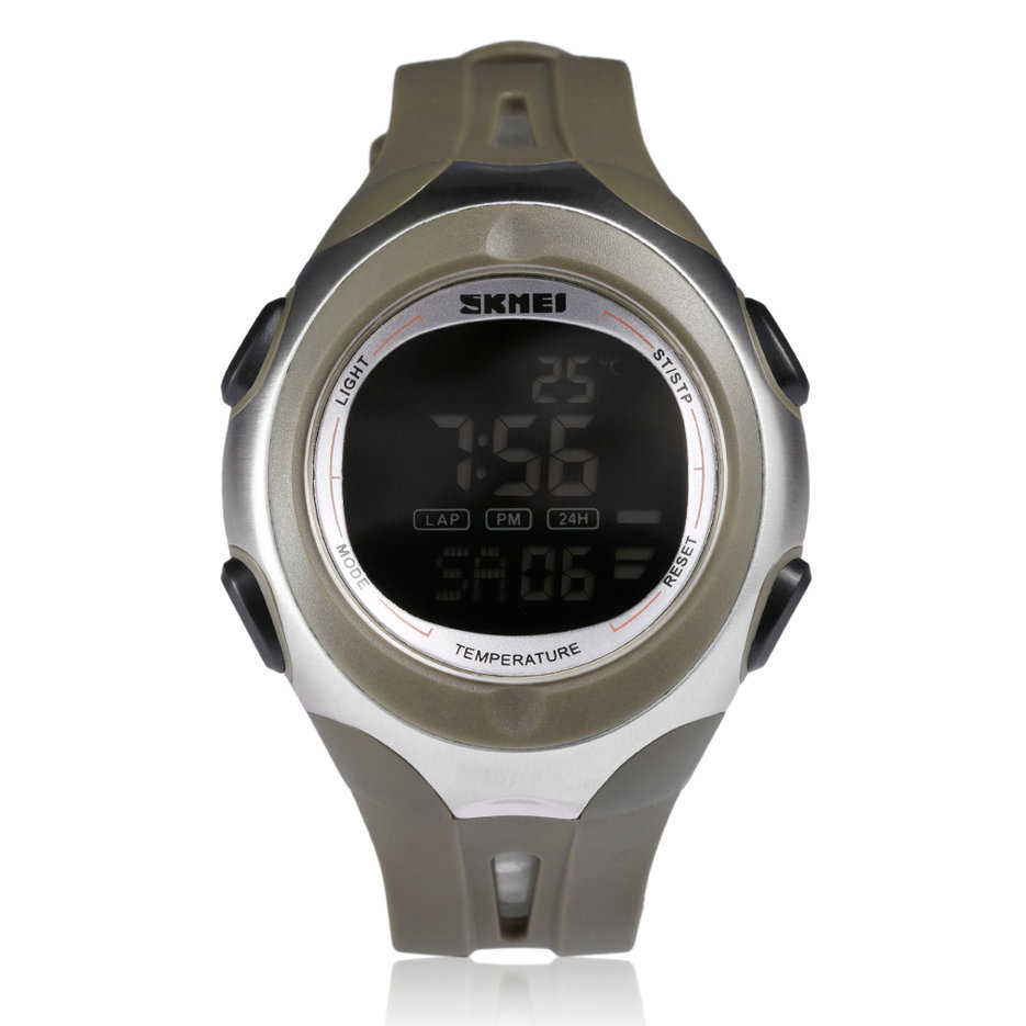 1080 skmei temperature diaplay led waterproof digital
