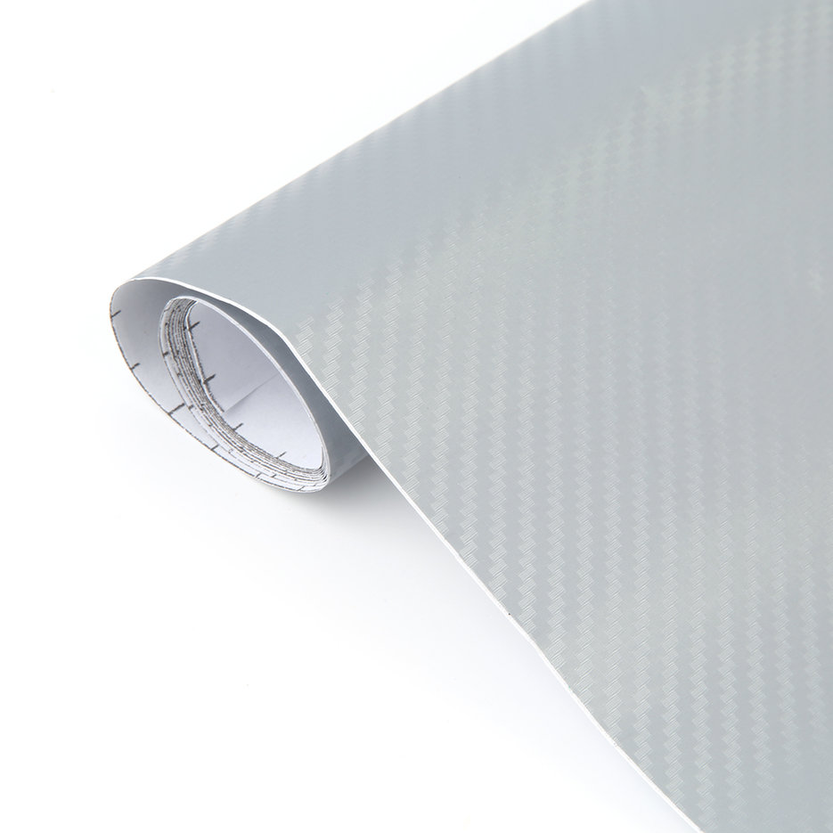 Stretchable 3d Decal Carbon Fiber Vinyl Wrap Sheet Roll