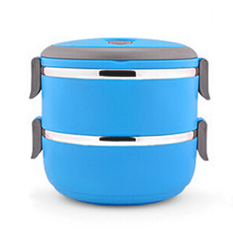 thermal insulated lunch box bento picnic storage mess tin food jar camping bs. Black Bedroom Furniture Sets. Home Design Ideas