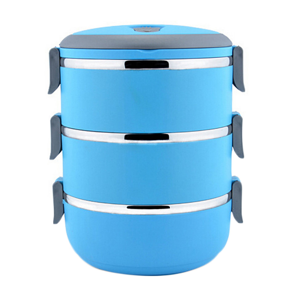 thermal insulated lunch box bento picnic storage mess tin food jar camping bs ebay. Black Bedroom Furniture Sets. Home Design Ideas