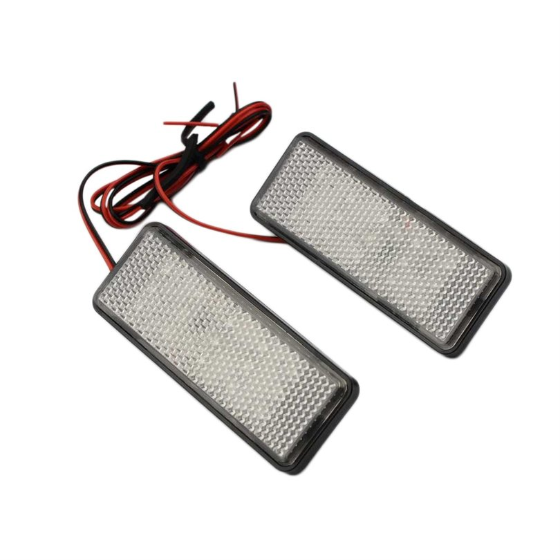 12V-27Led-Bulbs-Reflective-Patch-Rear-Lamp-Brake-Turn-Signal-Light-WS