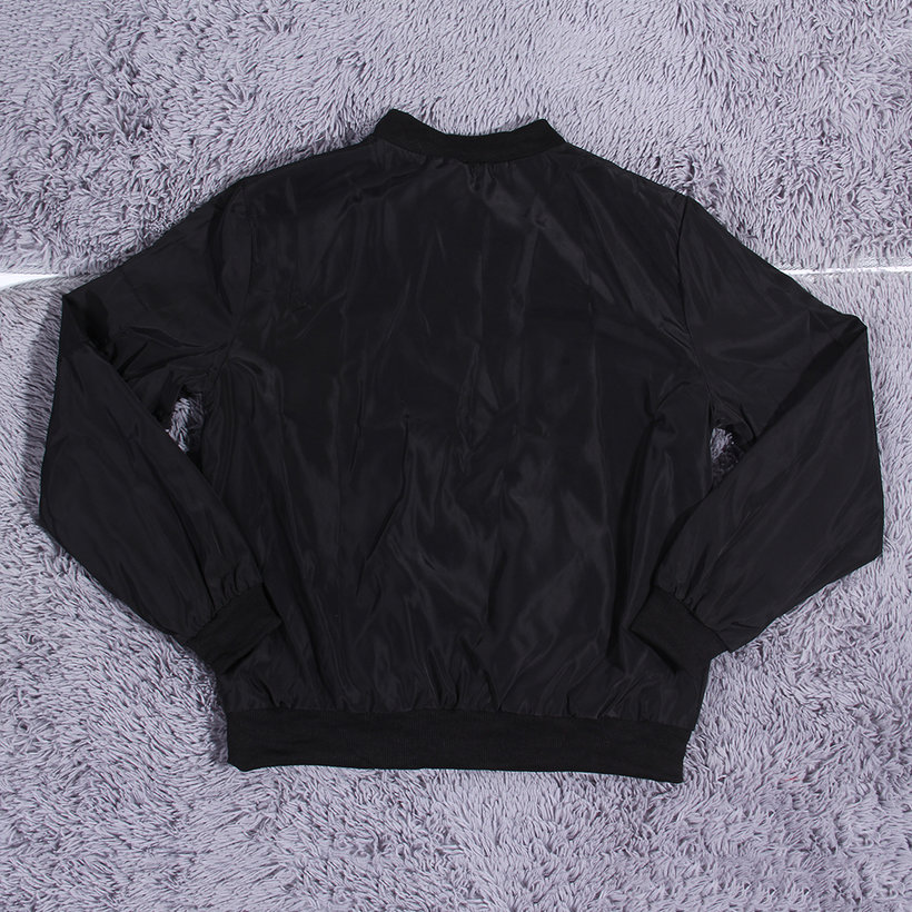 New Fashion Womens Classic Quilted Jacket Short Padded Bomber ...