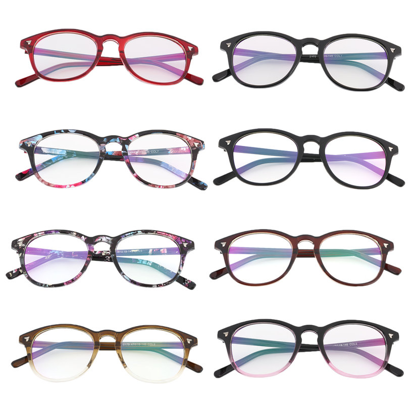 fashion vintage men women eyeglass frame len coating