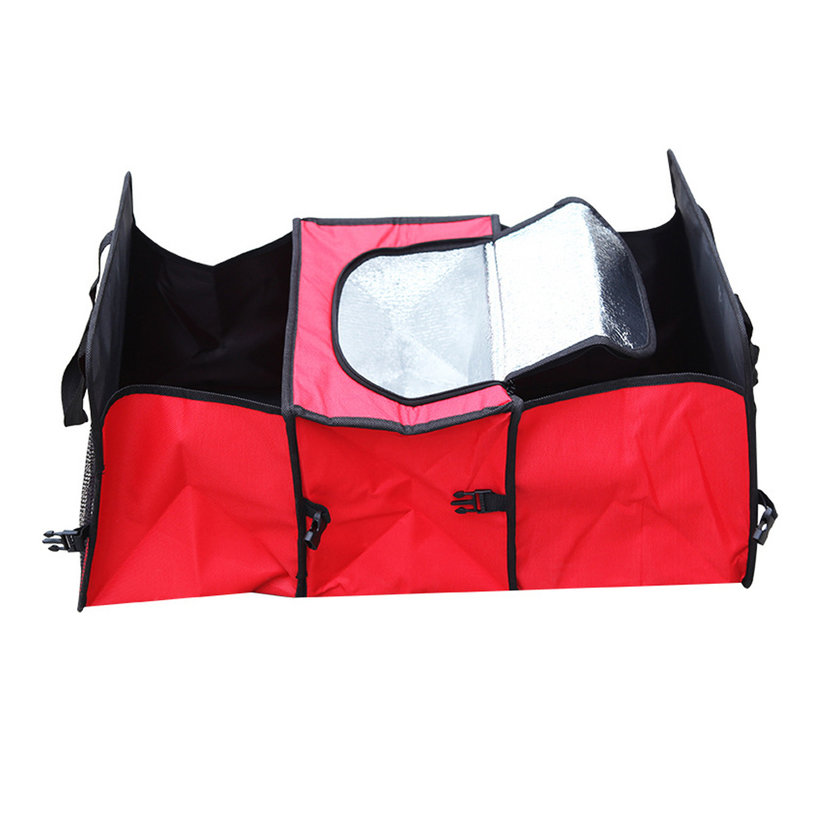 folding fold collapsible bag storage car auto trunk
