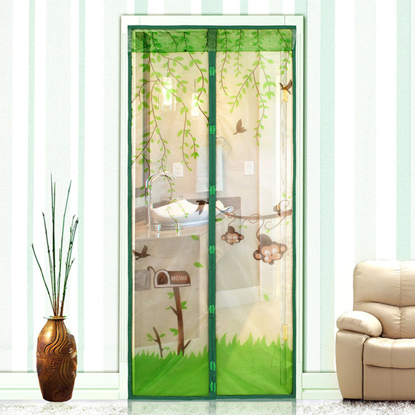 NEW Magnetic Mesh Screen Door Mosquito Net Curtain