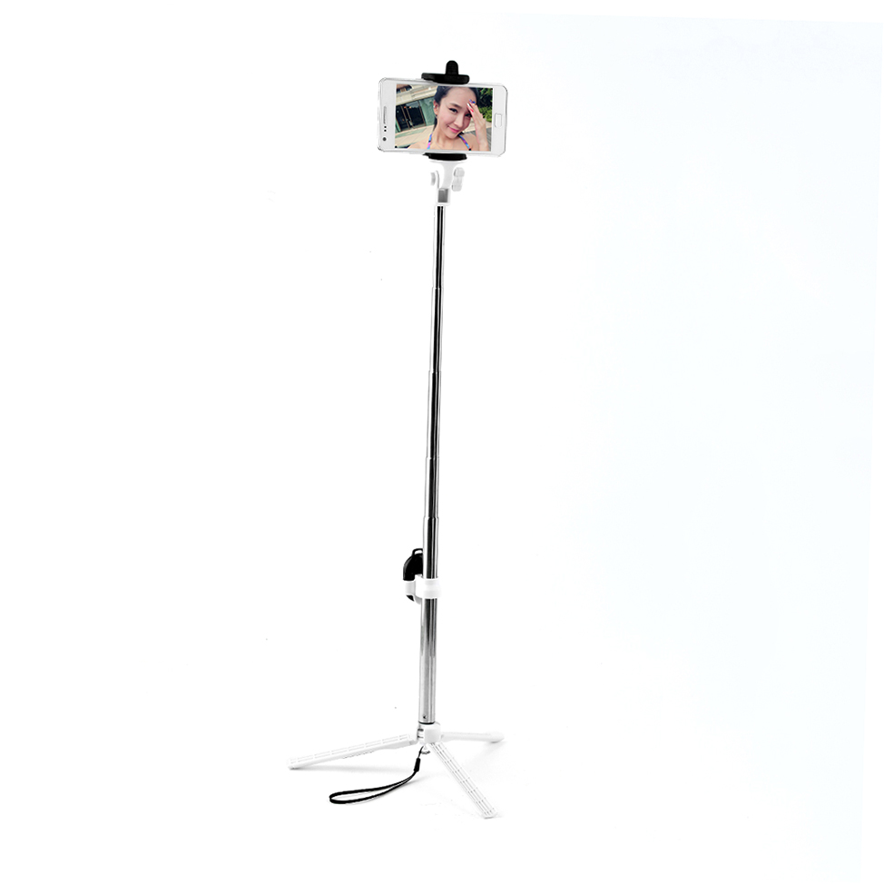high quality bluetooth cell phone selfie stick monopod tripod for iphone xp. Black Bedroom Furniture Sets. Home Design Ideas