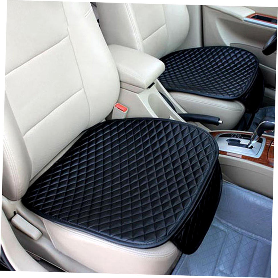 car front seat cushion universal pad comfort soft free tied seat covers az ebay. Black Bedroom Furniture Sets. Home Design Ideas