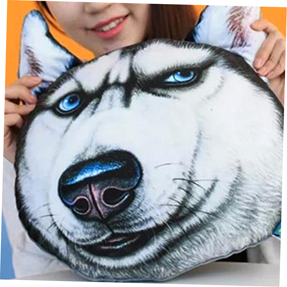 Fashion Multifunction Neck Pillow Cute 3D Animal Face Nap Car Waist Cushion ZPCN eBay