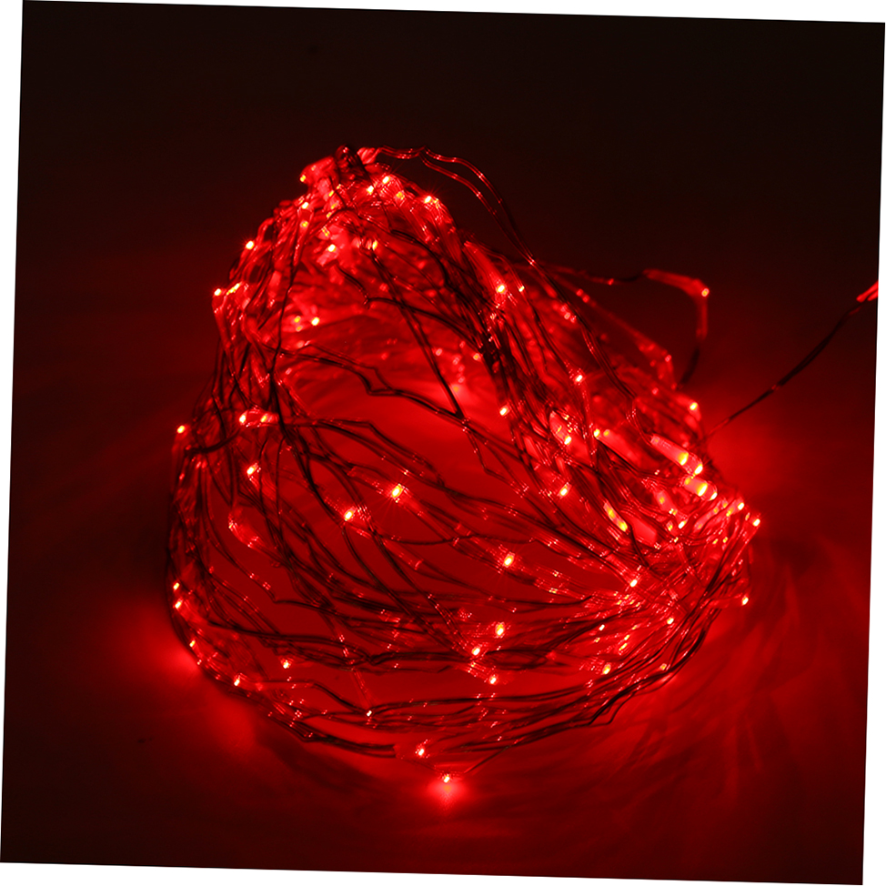 Copper String Lights Solar : Solar Powered Warm White 10M 100LED Copper Wire Outdoor String Fairy Light GTO eBay
