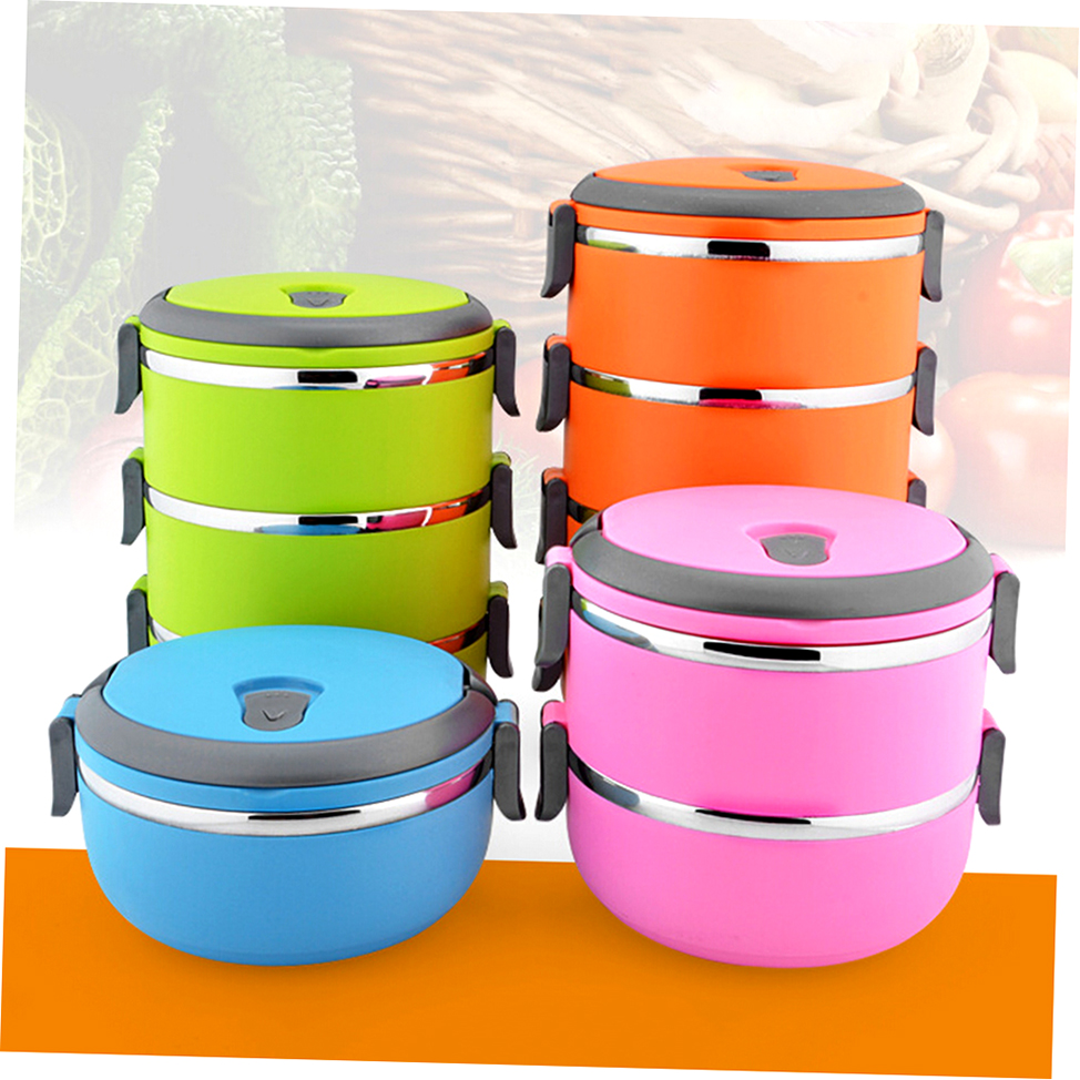 thermal insulated lunch box bento picnic storage mess tin food jar camping rx ebay. Black Bedroom Furniture Sets. Home Design Ideas