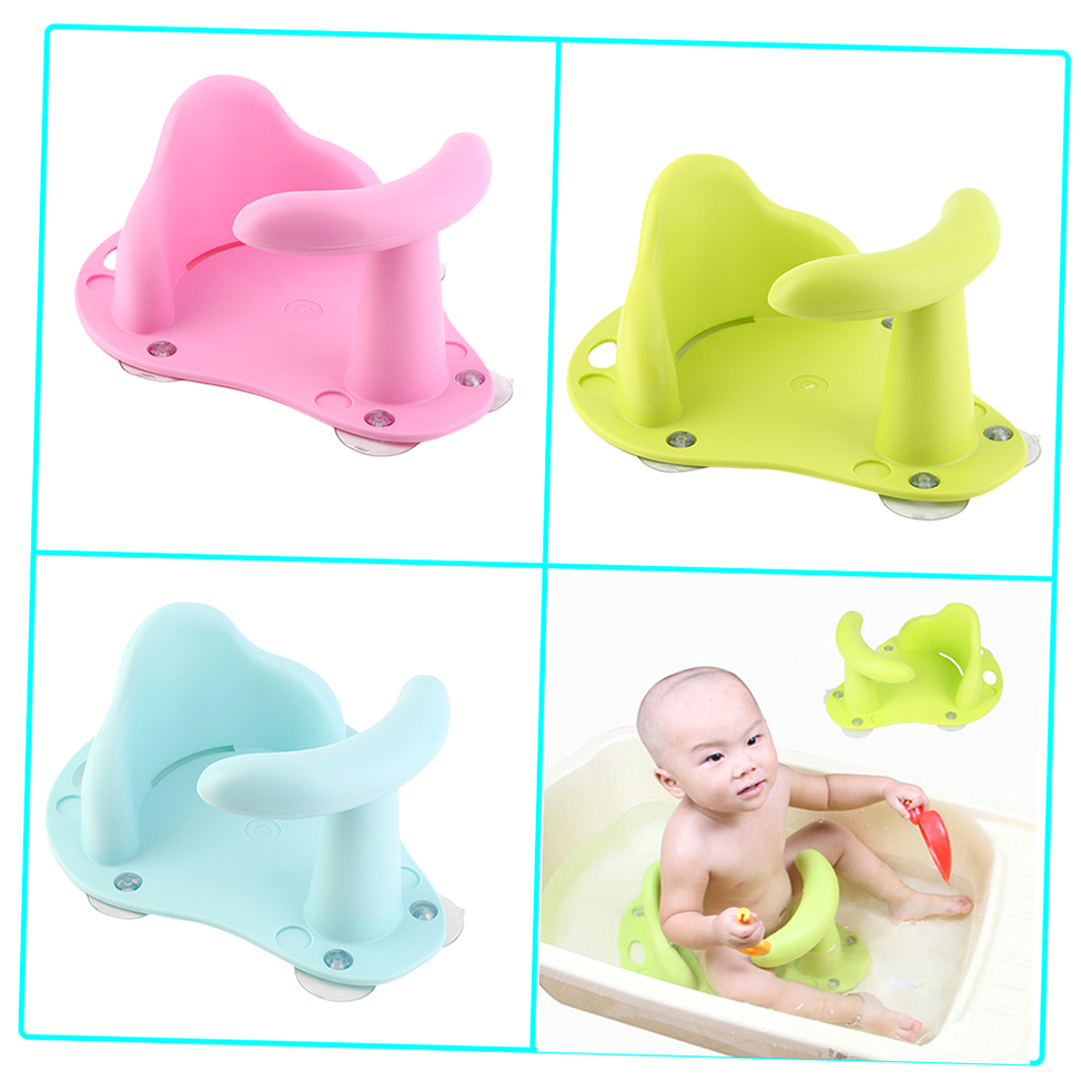 new baby bath tub ring seat infant child toddler kids anti slip safety chair xp ebay. Black Bedroom Furniture Sets. Home Design Ideas