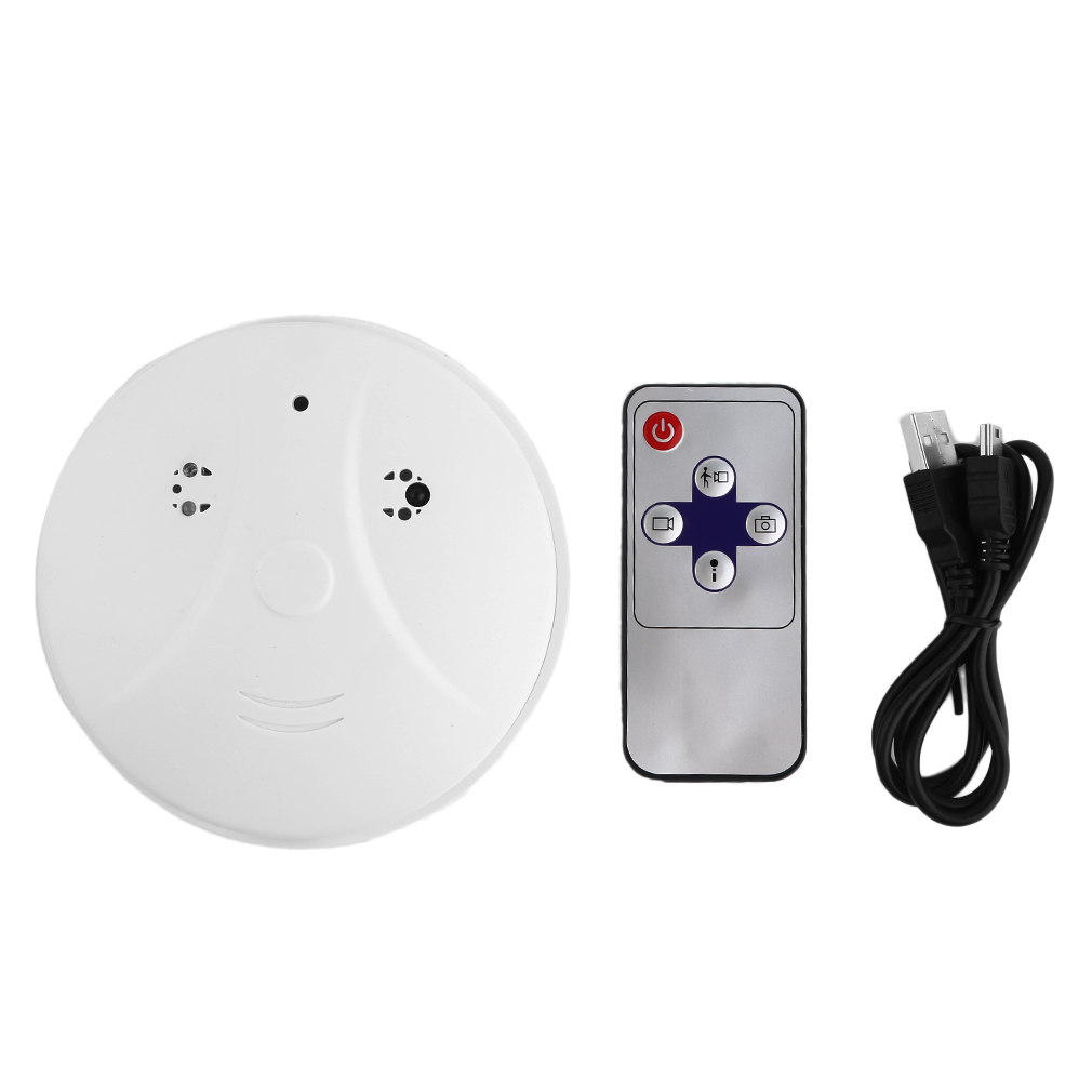 wireless hd 1080p spy smoke detector hidden camera motion detect dvr camera wp ebay. Black Bedroom Furniture Sets. Home Design Ideas