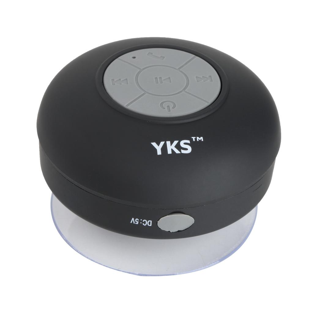 Mini waterproof wireless bluetooth speaker shower hands free suction in car for Wireless bluetooth bathroom speaker