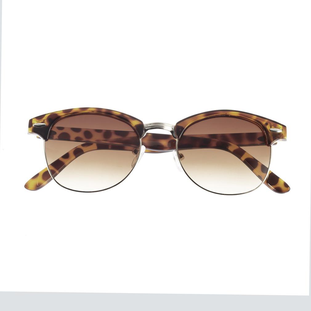 Wayfarer Glasses Half Frame : Retro Half Frame Clubmaster Shades Style Classic Wayfarer ...