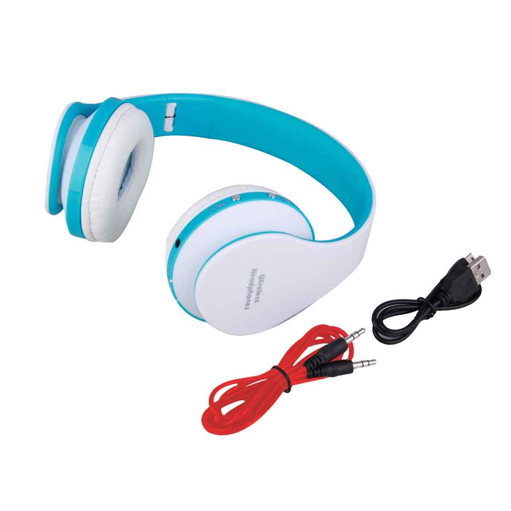 Foldable Wireless Stereo Bluetooth Headset With Mic For IPhone Cellphone PC Laptop