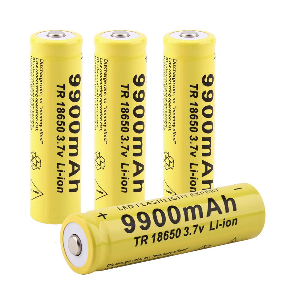 best 18650 capacity rechargeable battery for led flashlight torch der ebay. Black Bedroom Furniture Sets. Home Design Ideas