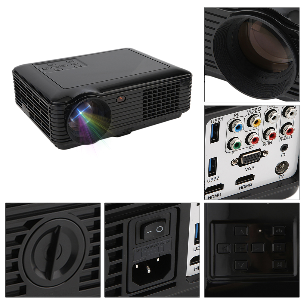 3d smart portable business projector full hd 1080p led for Best portable smart projector