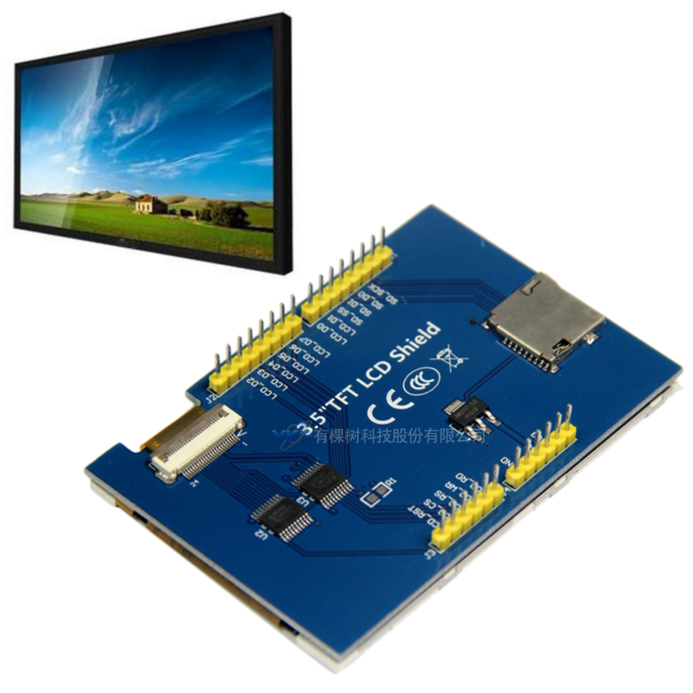 Inch tft color screen module ultra hd support