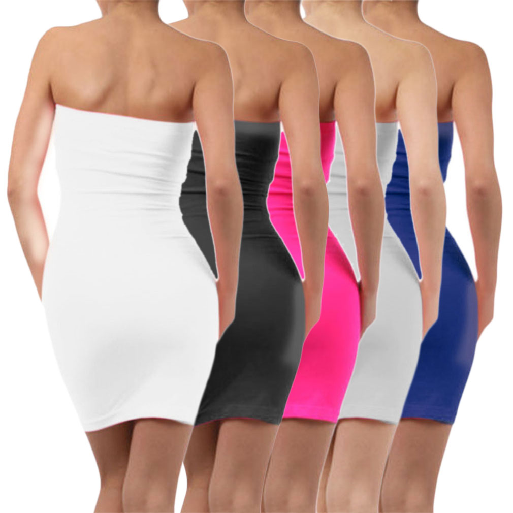 Stretch Tube Mini Dress