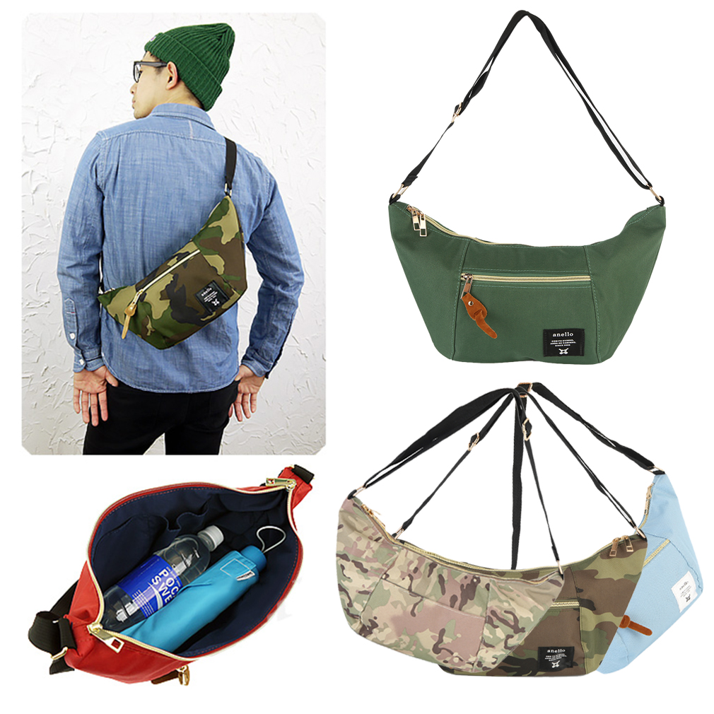 New High Quality Outdoor Sports Waterproof Sling Bag Banana Bag ...