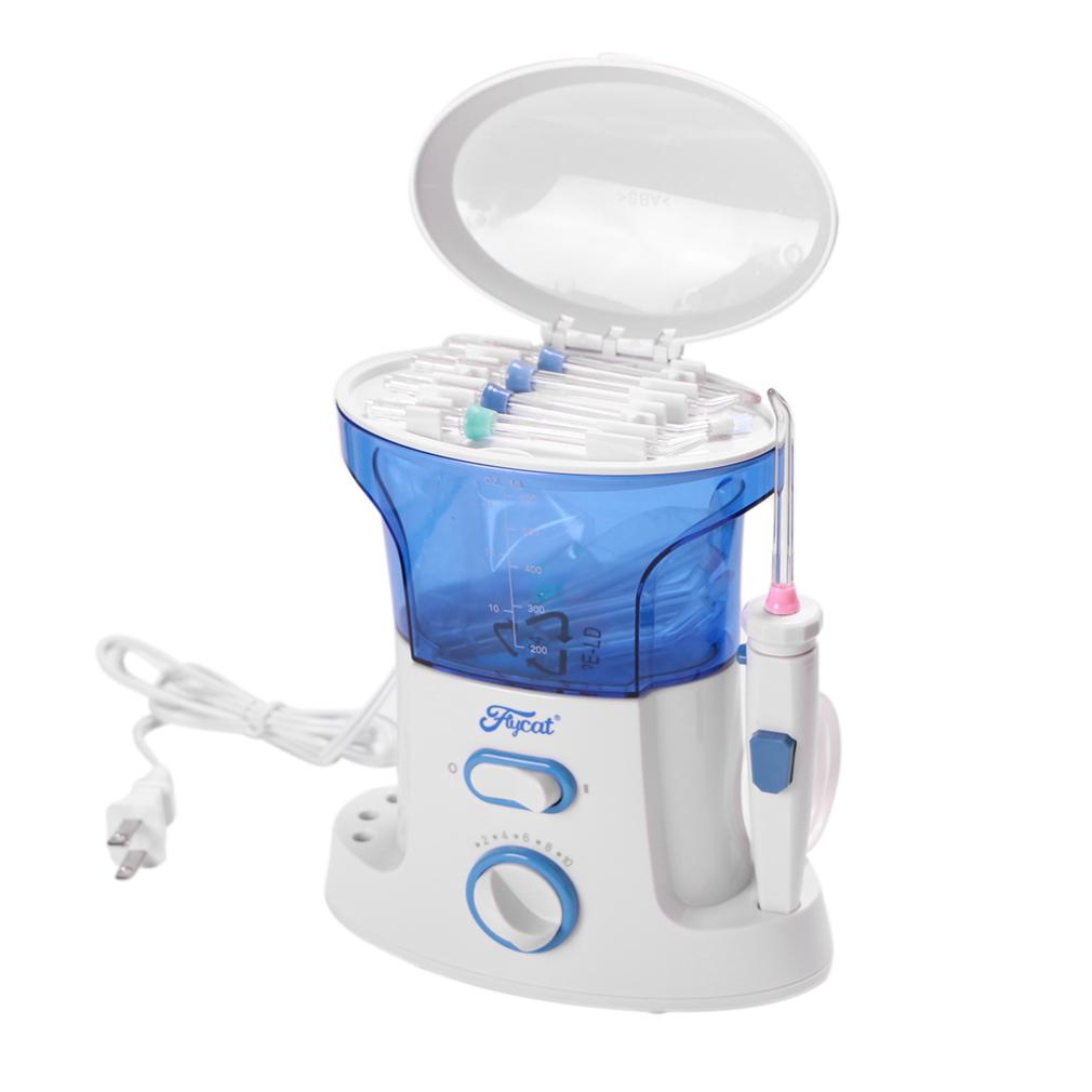 electric water flosser dental handle holder teeth gum oral irrigator care power ebay. Black Bedroom Furniture Sets. Home Design Ideas