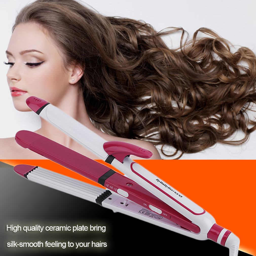 professional electric hair crimper hair styling tools ceramic rotary plate ln. Black Bedroom Furniture Sets. Home Design Ideas