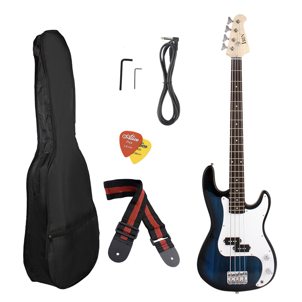 new full size 4 strings electric bass guitar amp cord gigbag new oy auctions buy and sell. Black Bedroom Furniture Sets. Home Design Ideas