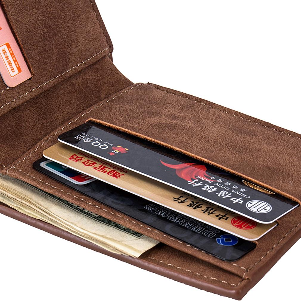 Best Baborry Mini Men s Luxury Business Wallets Card