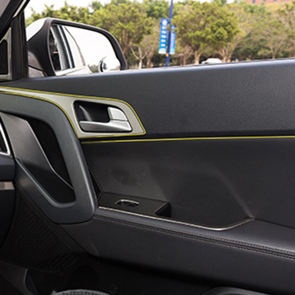 5m gap red line interior moulding car edge trim accessory universal strip mr ebay. Black Bedroom Furniture Sets. Home Design Ideas