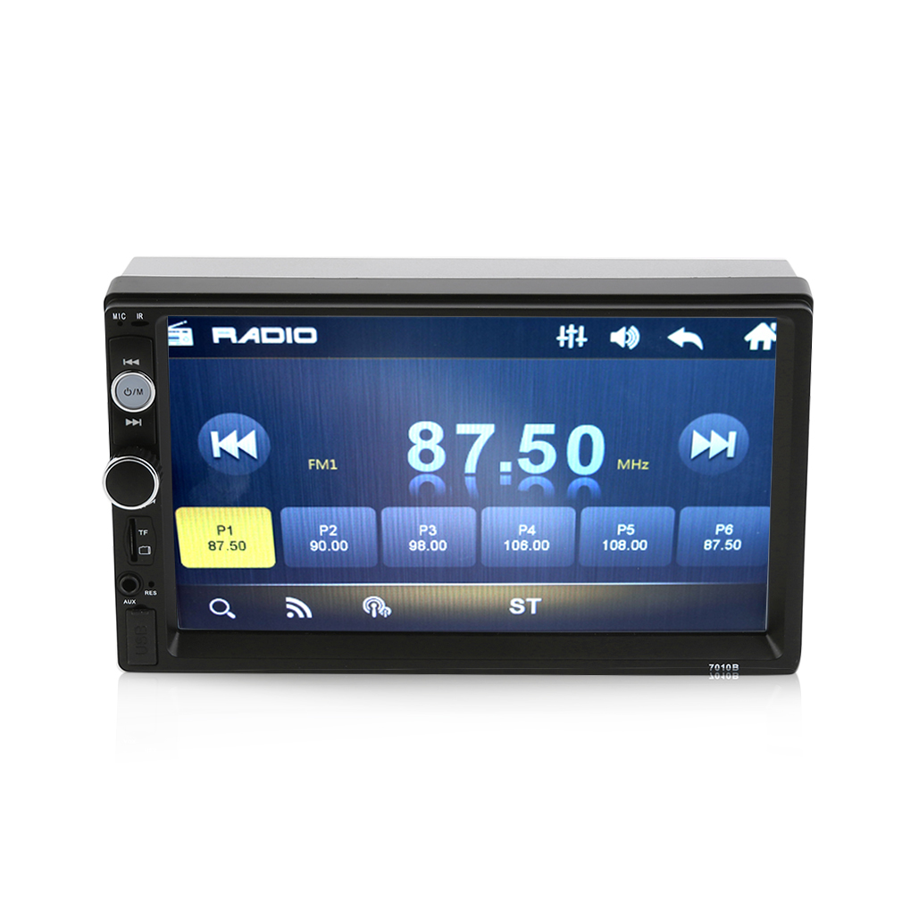 "7"" Double 2DIN Car MP5 MP3 Player Bluetooth Touch Screen"
