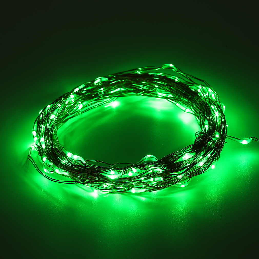10/15/20m LED Solar Fairy String Light Outdoor Wedding Christmas Party Lamp AUG eBay