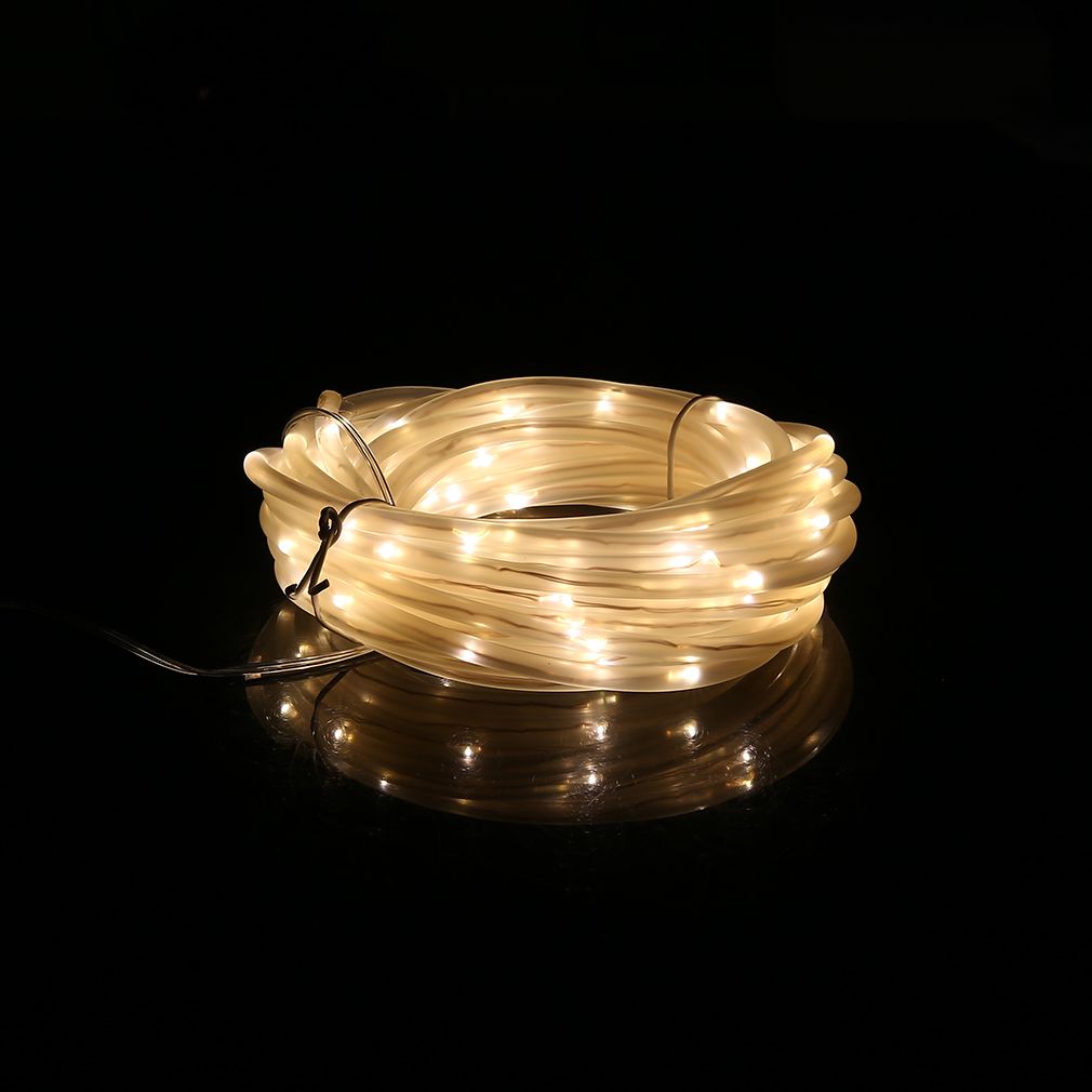 Solar String Lights Indoor : 7m 50 LED 4*6MM Solar Powered Indoor Outdoor Copper Wire Lamp String Light JL eBay