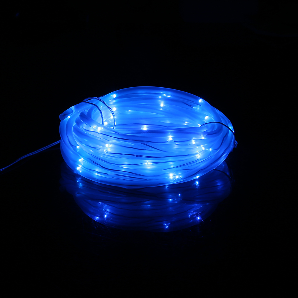 Copper String Lights Diy : 7m 50 LED 4*6MM Solar Powered Indoor Outdoor Copper Wire Lamp String Light JL eBay