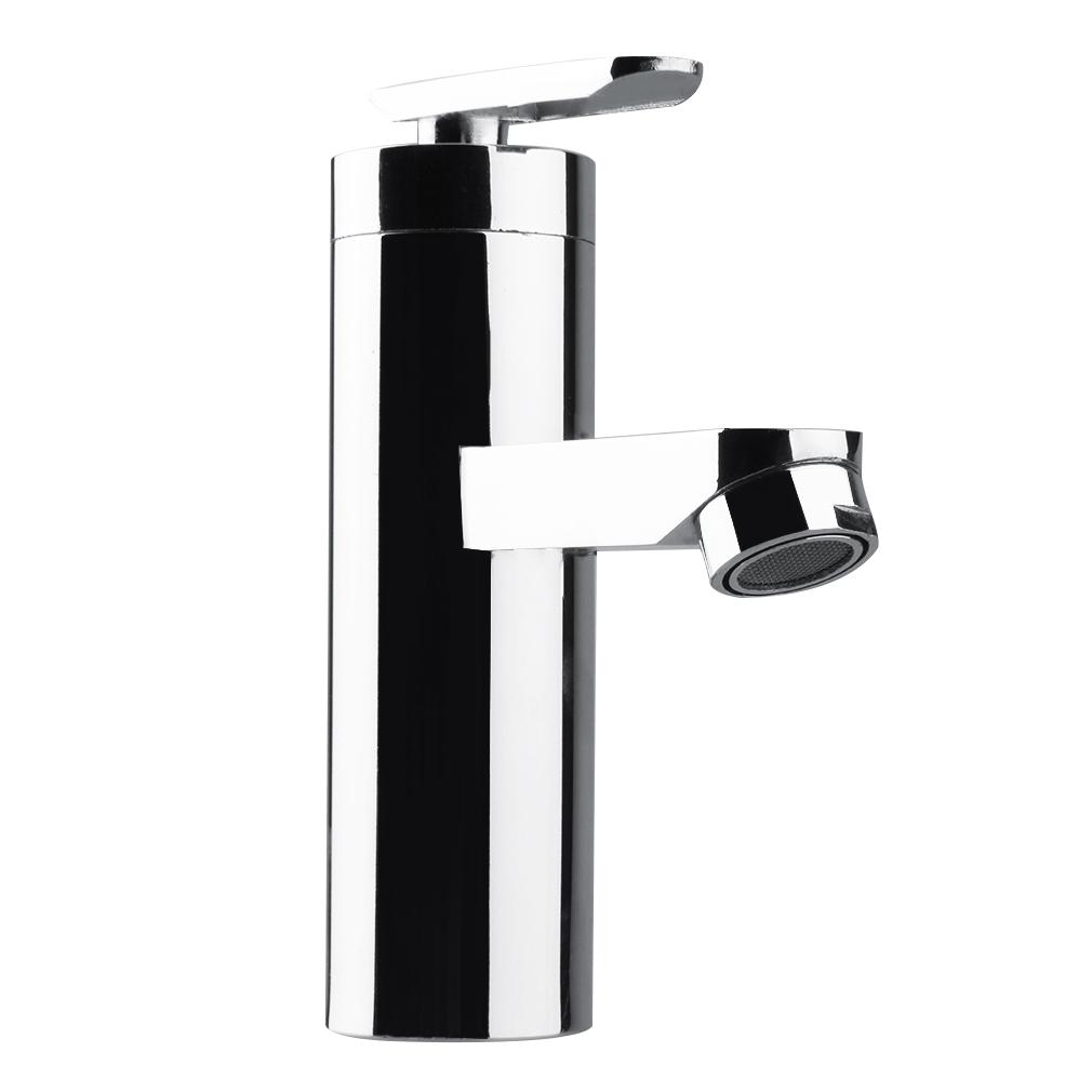 Black Kitchen Sink Malaysia: Brushed Chrome Waterfall Bathroom Basin Faucet Single