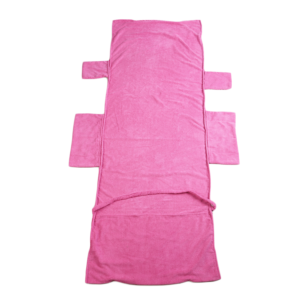 Beach Lounge Chair Cover Towel For Holiday Garden Lounge With Pockets H