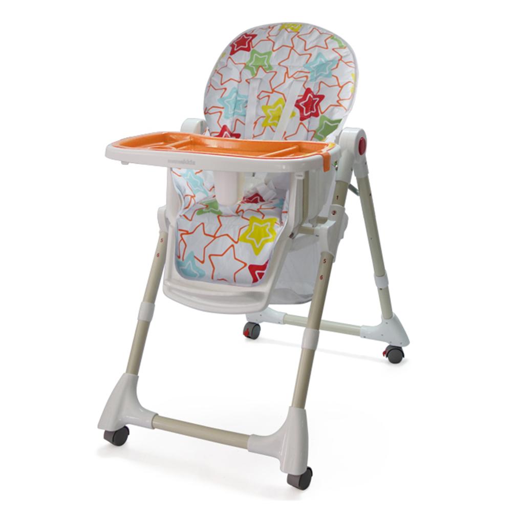 Childrens Child Kids Snacker Highchair Fast Folding Feeding Dining Chair New