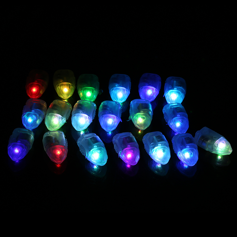 50x led balloon lights colour light paper lantern lamp. Black Bedroom Furniture Sets. Home Design Ideas
