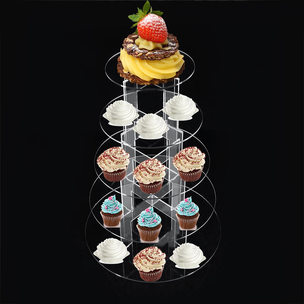 tortenst nder acryl etagere hochzeit party hochzeitstorte muffinst nder 3 7etage ebay. Black Bedroom Furniture Sets. Home Design Ideas