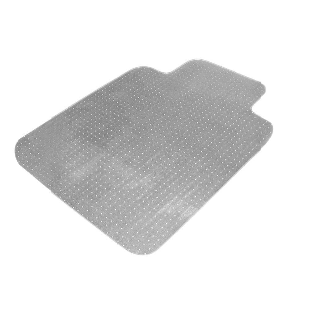 36 x 48 home office chair pvc floor mat studded back with lip for pile carpet ebay. Black Bedroom Furniture Sets. Home Design Ideas