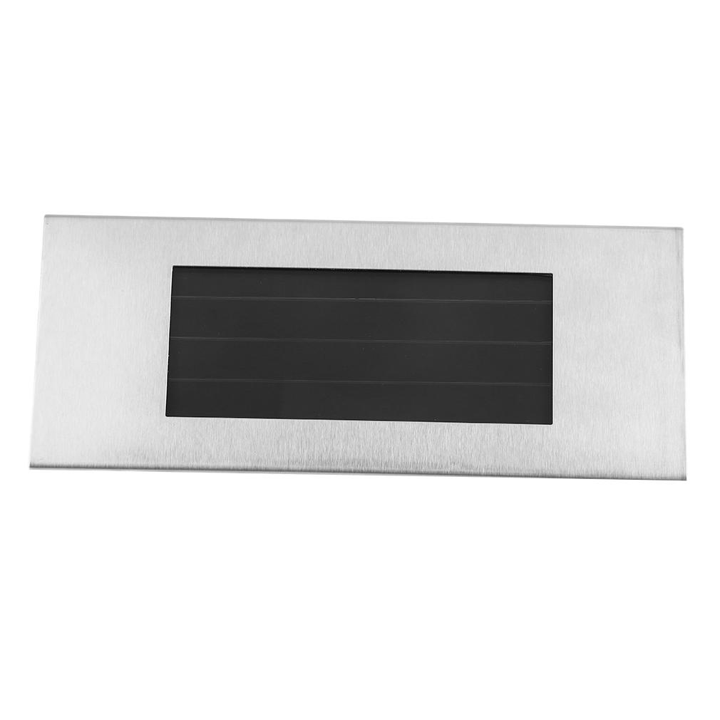 design solar hausnummer mit led beleuchtung edelstahl hausnummernleuchte de. Black Bedroom Furniture Sets. Home Design Ideas